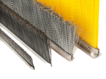 Brushes for concrete industry